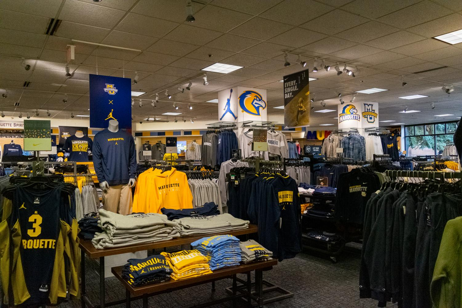 One of the employees, Craig Zientek, hired works for the Marquette Spirit Shop.