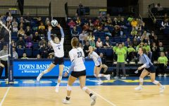No. 10 Marquette volleyball sweeps Butler at Hinkle Fieldhouse