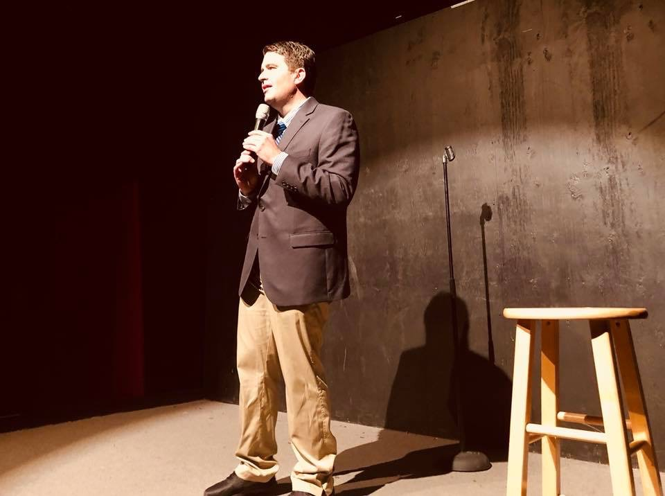 Bob Schram, two-time Marquette alumnus and adjunct instructor in the College of Communication, is a seasoned stand-up comedian and sketch writer.
