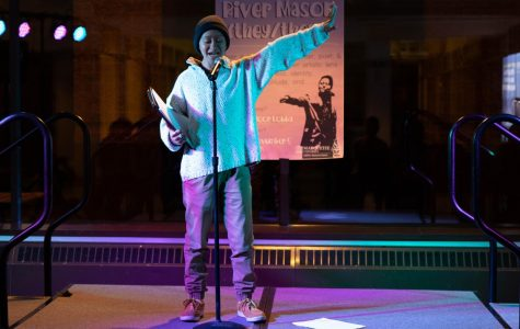 Office of Engagement and Inclusion hosts poet for Transgender Awareness Week