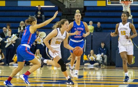 Marotta's first career double-double paces MU in 92-71 win over St. Francis Brooklyn