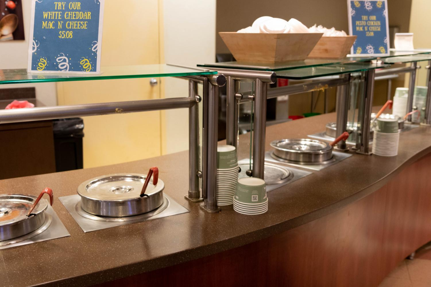Marquette Place in the Alumni Memorial Union is one on-campus venue that consistently offers soup.