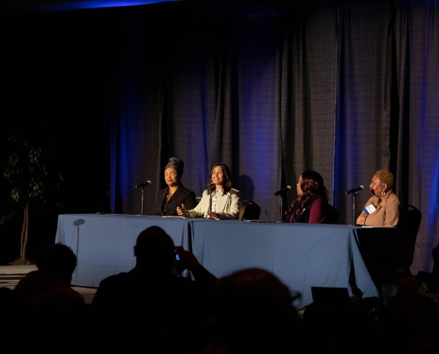 Panelists spoke at No Studios first annual Social Justice Summit to raise awareness about social justice.