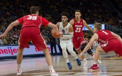 Wojciechowski prepares for Nate Reuvers, Wisconsin Badgers Sunday