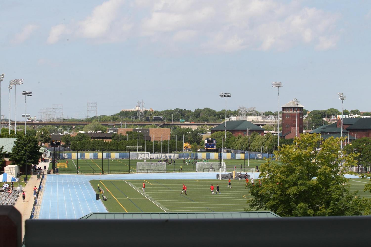 A view atop Valley Fields.