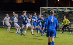 Men's soccer cannot convert second-half opportunities against Seton Hall, loses in overtime