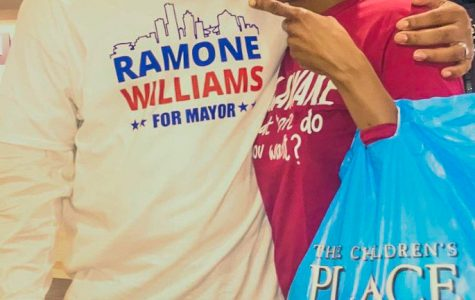 Ramone Williams said he is running because his immense love for his hometown.   Photo courtesy of Ramone Williams