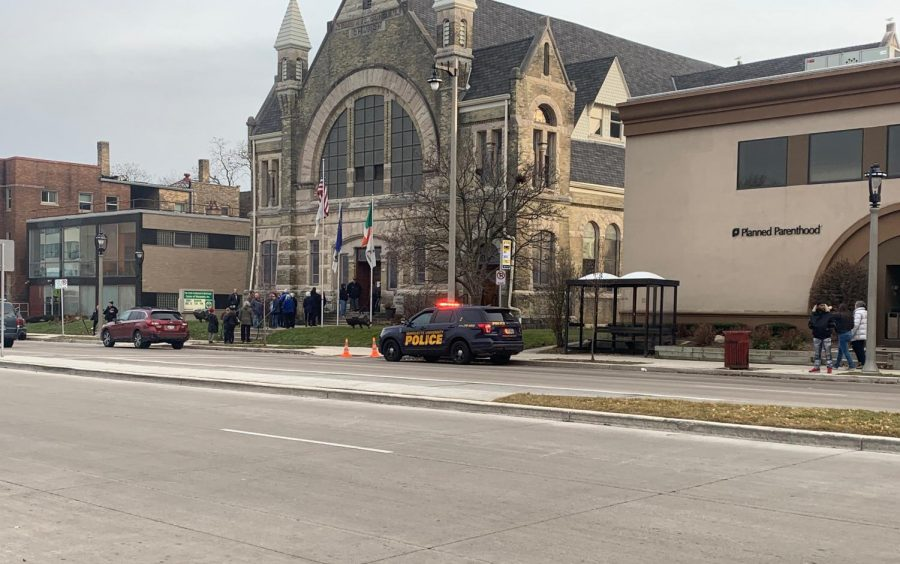 The shooting happened in the area of Wisconsin Avenue and 22nd Street.