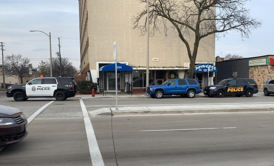 MPD and MUPD responded to a shooting Sunday afternoon.
