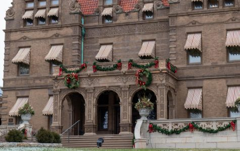 The Pabst Mansion, located at 2000 W. Wisconsin Ave., is decorated for the holiday season.