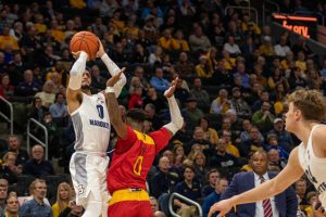 Howard brothers break NCAA record, Golden Eagles outlast NDSU