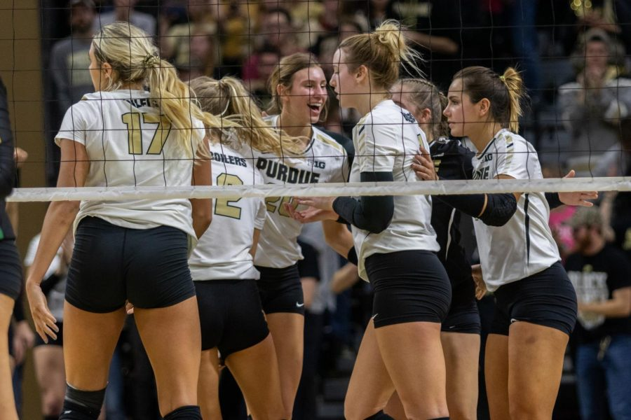 The Boilermakers have not lost at Holloway Gymnasium since Nov. 3.