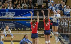 Volleyball opens 2019 NCAA Tournament with sweep over Dayton