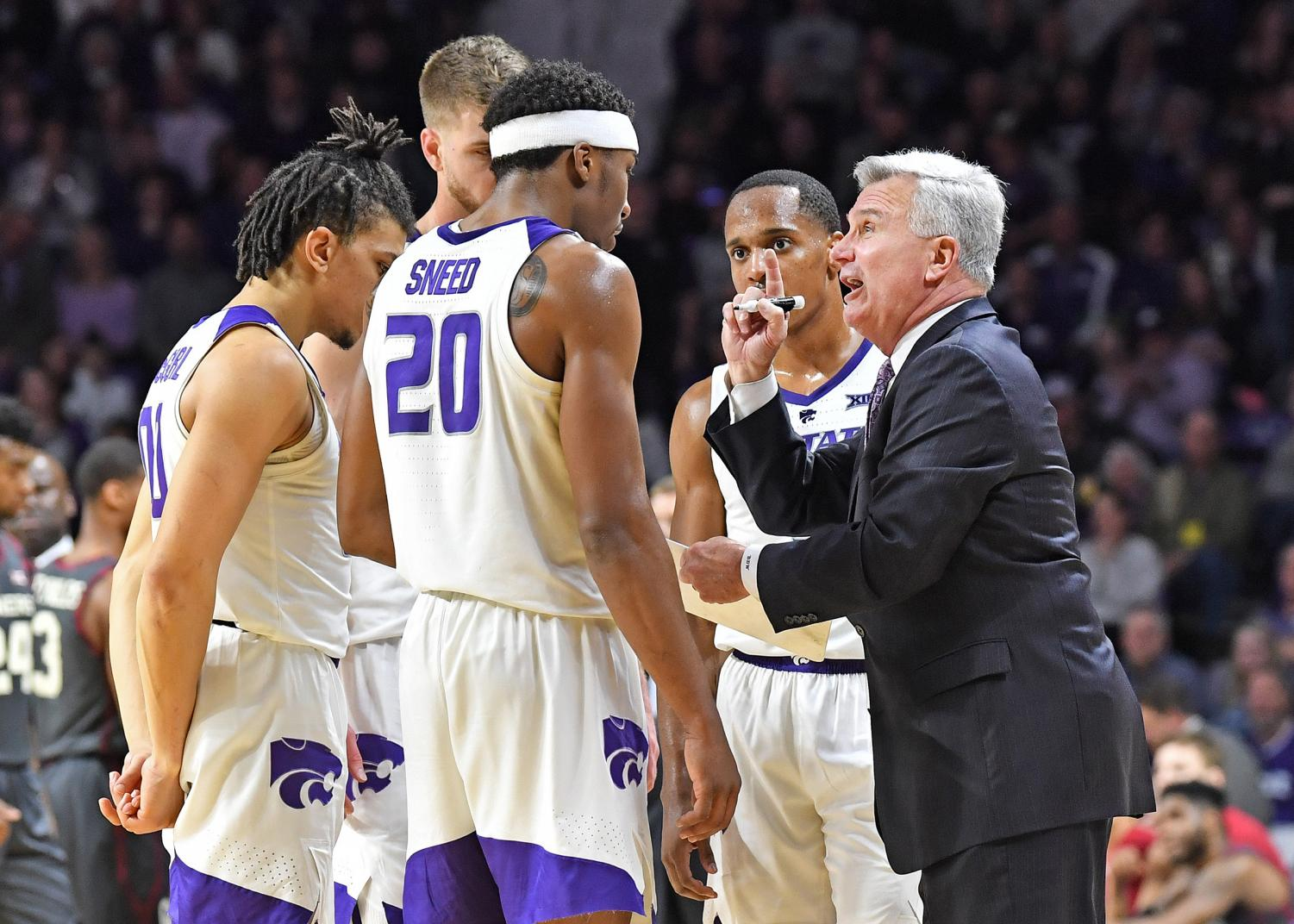 Bruce Weber has been the head coach at Kansas State since 2012. (Photo courtesy of Kansas State Athletics.)