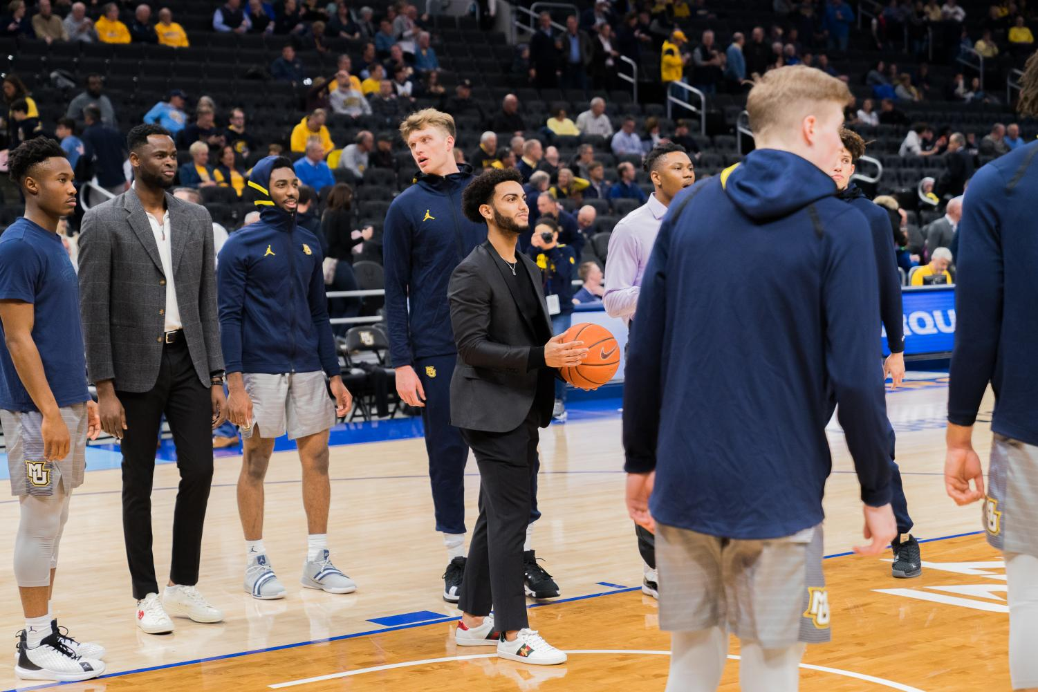 Markus Howard sat out of Wednesday's game while in concussion protocol.