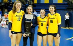 Barber, Speckman say goodbye to Marquette volleyball