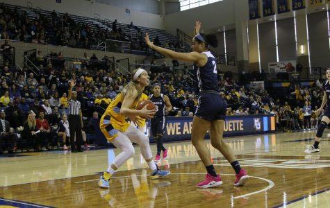 Women's basketball bounces back against Xavier
