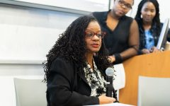 Congresswoman Gwen Moore comes to speak at Marquette