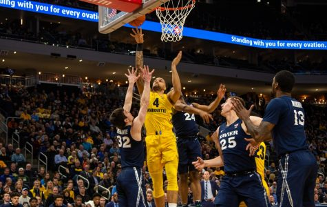 Offensive aggressiveness, toughness push Marquette to 20-point rout over Xavier