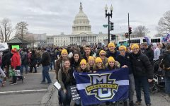 Students traveled to Washington D.C. to participate in March for Life.   Photo courtesy of Stephen Blaha