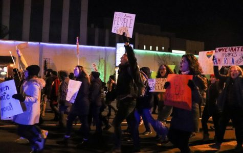 Trump rally and counter protest held off campus