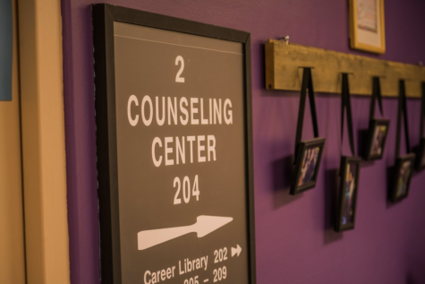The Counseling Center, located in Holthusen Hall, is not currently offering physical visits.