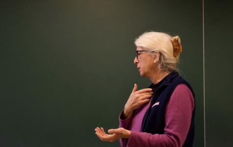 Dorothy Day's granddaughter visits campus, advocates for social justice in theology class
