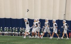 Offensive onslaught gives men's lacrosse big road win