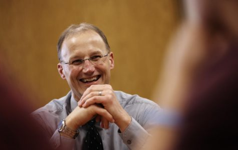 Joseph Daniels was named dean of the College of Business Administration in January.