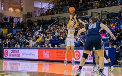 WBB secures first-round bye for BIG EAST Tournament, beats Georgetown after big second half