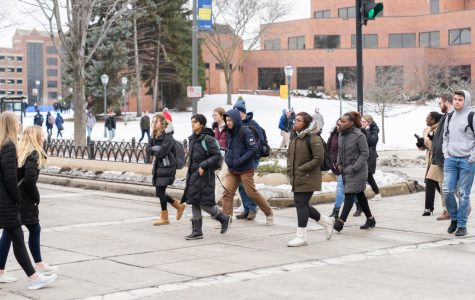 Marquette University Police Department announced plans for a Pedestrian Safety Initiative last April.