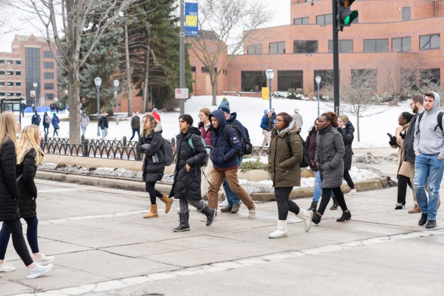 Marquette+University+Police+Department+announced+plans+for+a+Pedestrian+Safety+Initiative+last+April.+