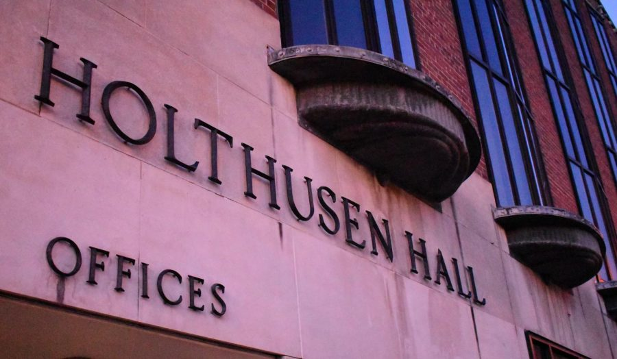 The Counseling Center, which provides therapy to students, is housed in Holthusen Hall.