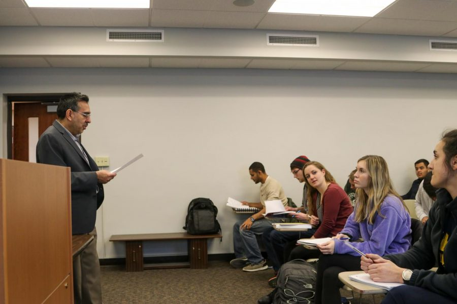 """Interfaith dialogue is necessary,"" Irfran Omar, the professor of the class, said."