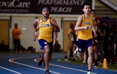 Wright setting records for track and field despite only being a first-year