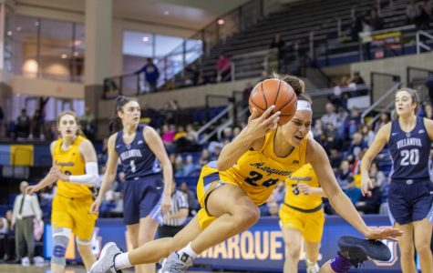 Poor shooting, costly turnovers hand Marquette tough road loss to Villanova
