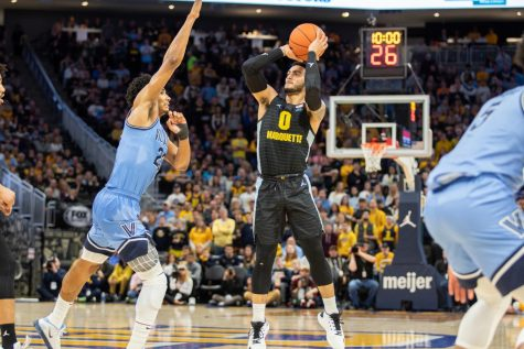 Wildcats end Marquette's chances at an at-large NCAA bid