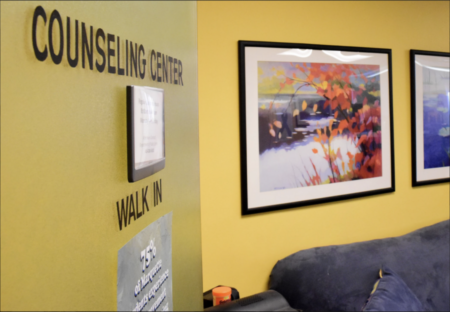The Counseling Center is located on the second floor of Holthusen Hall.