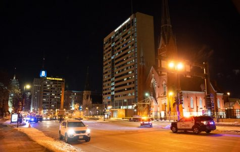 Individual struck by a vehicle outside Straz Tower