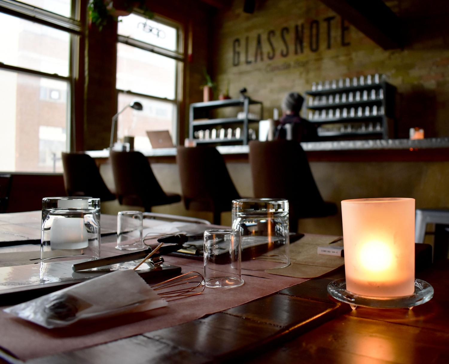 The venue, located at 524 S. 2nd St., is decorated with old-style charm, including soft lighting, Cream City brick, wooden tables and hanging plants.