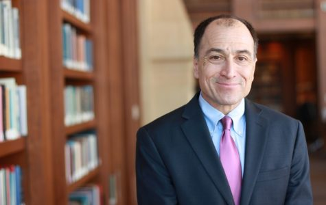 Ed Fallone has worked for the law school since 1992.   Photo courtesy of Chelsea Cross