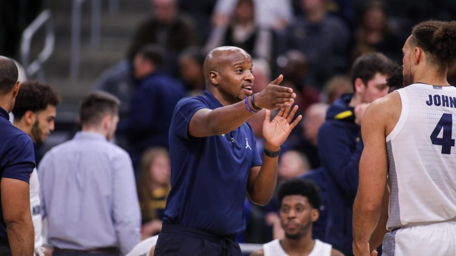 Dwayne Killings was named associate head coach Friday. (Photo courtesy of Marquette Athletics.)