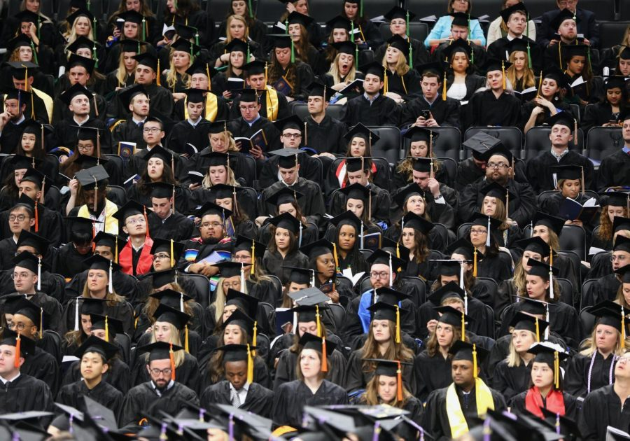 Commencement will take place August 30.  Photo courtesy of the Office of Marketing and Communication.