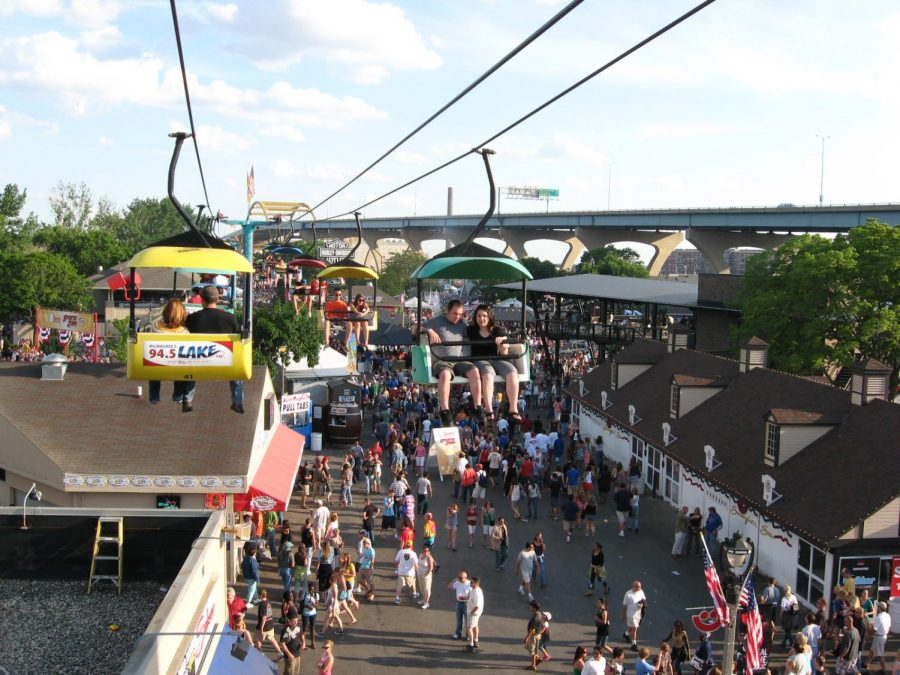 Summerfest will now take place September of next fall due to COVID-19. Photo via Flickr