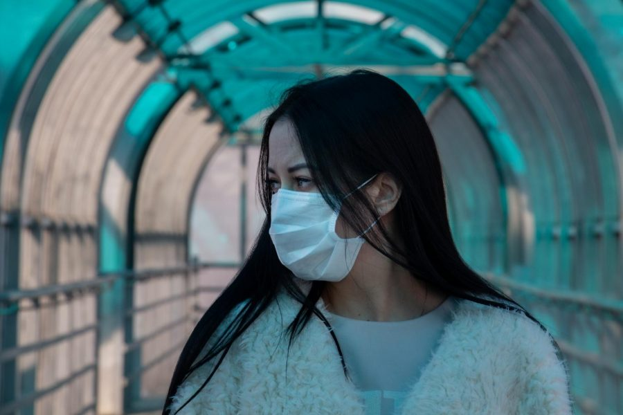 Many people are using masks for self-protection against coronavirus exposure. Photo via Flickr.