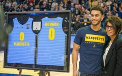 Howard becomes first Marquette student-athlete to win Senior CLASS Award