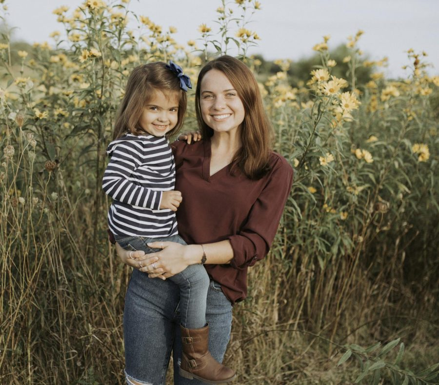 Alexandra Garner and her younger sister Sophie take a photo together in September 2019. Photo courtesy of Alexandra Garner.