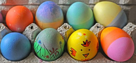 Although this Easter was different for many students, some were still able to decorate eggs and spend time with family in light of the holiday spirit. Photo via Flickr