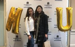 Vivien Ulrich (right) says Marquette is the first and only school she applied to. Photo courtesy of Vivien Ulrich.