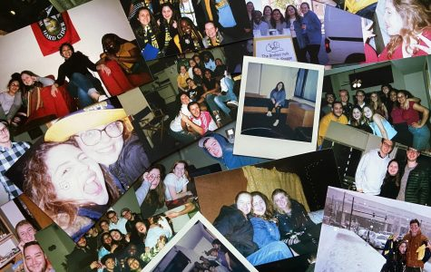 Alexa Jurado created a collection of prints documenting her time on campus during the 2019-20 academic year. Photo courtesy of Alexa Jurado.